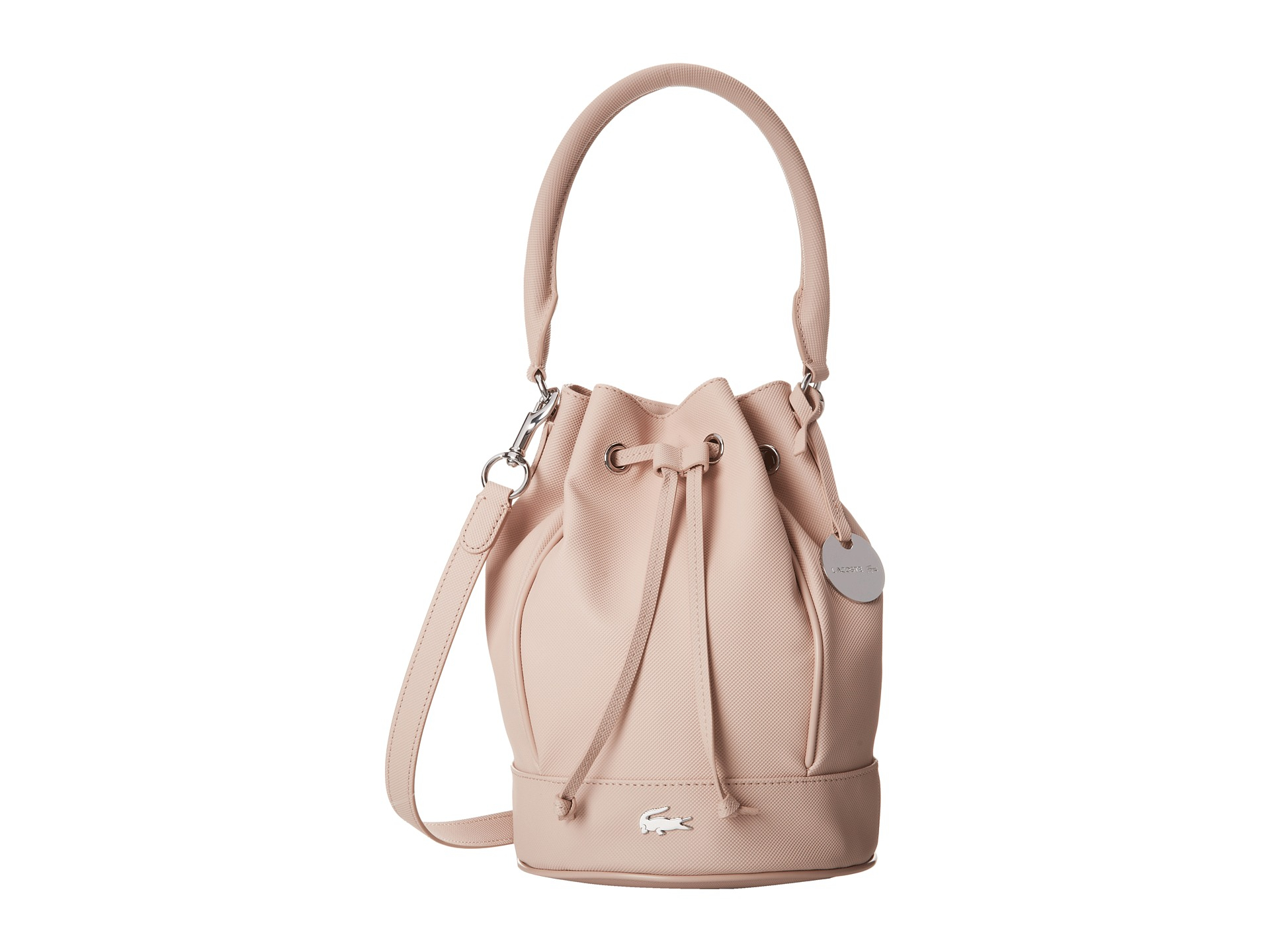 8867e1cb78 Lacoste Daily Classic Bucket Bag in Pink - Lyst