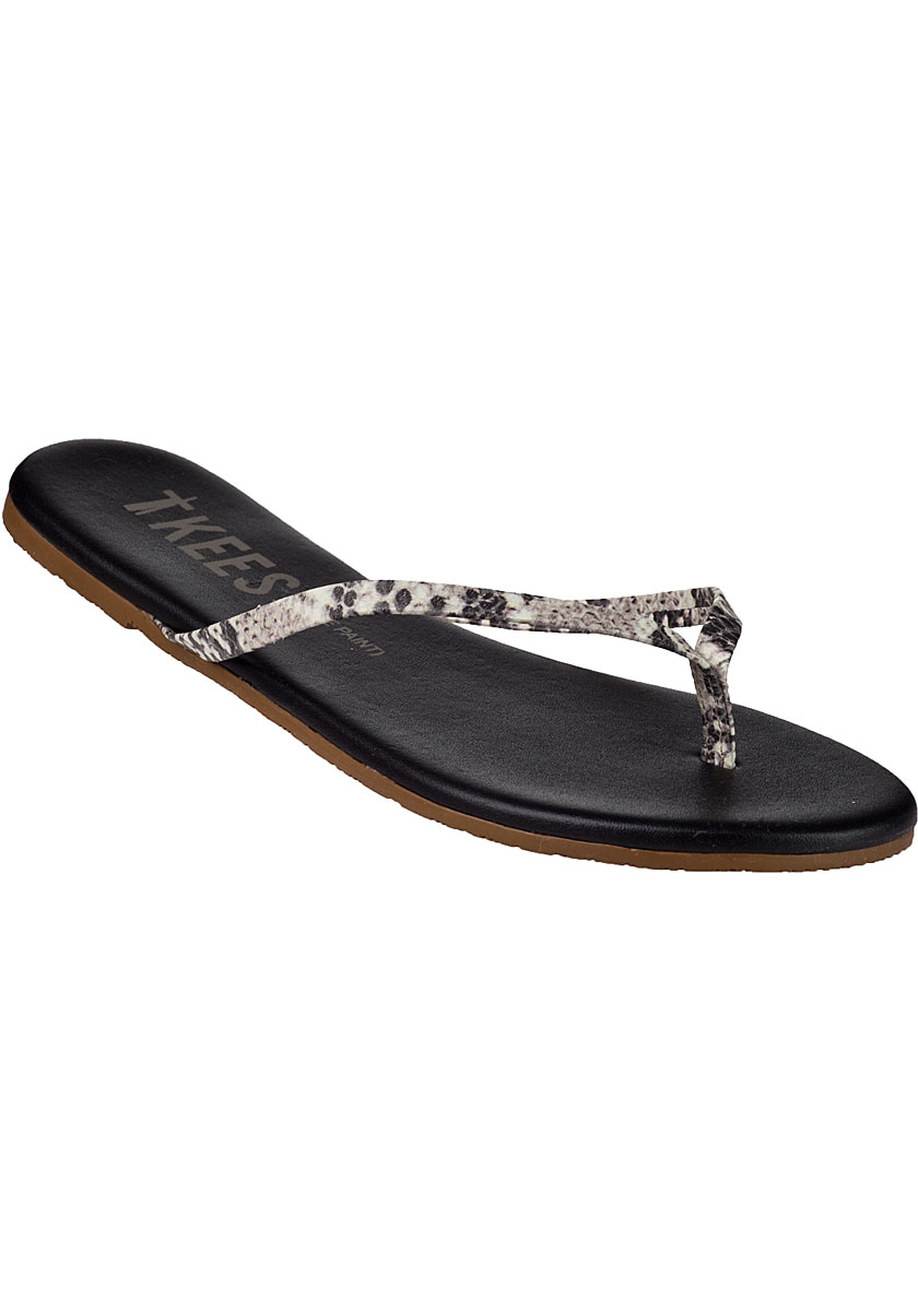 Tkees Face Paints Flip Flop Grey Snake In Gray  Lyst-4283