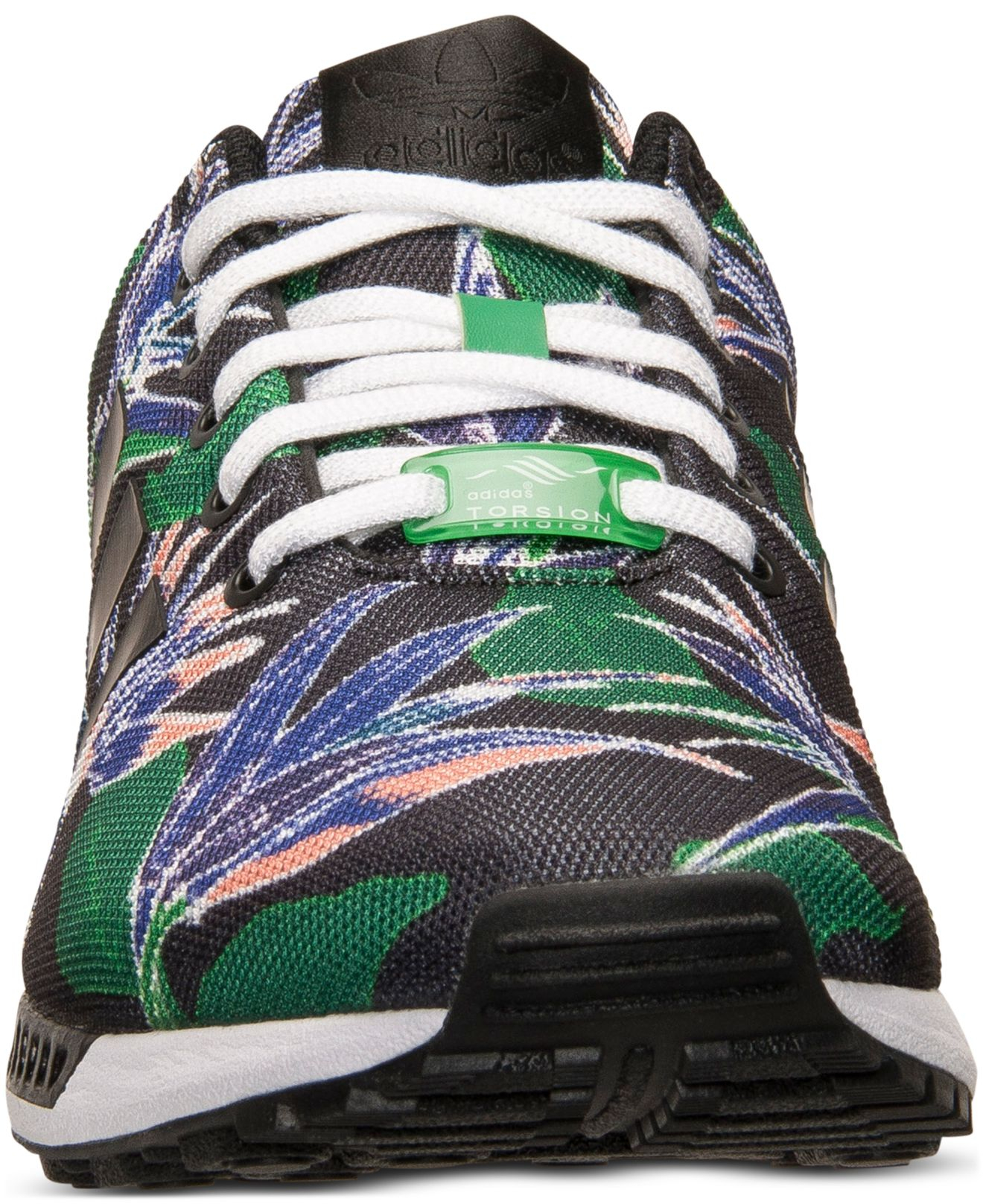 separation shoes edb80 8526e Lyst - adidas Mens Zx Flux Floral Print Casual Sneakers From