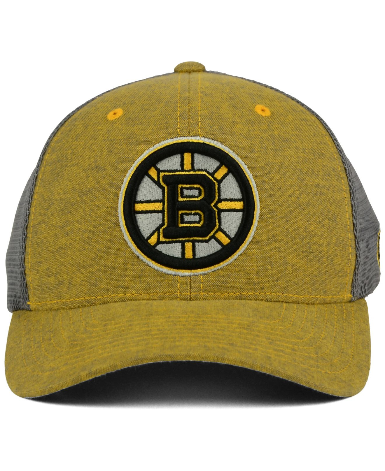 the best attitude 629d7 70369 buy lyst old time hockey boston bruins duster flex cap in natural for men  7acaa d1540