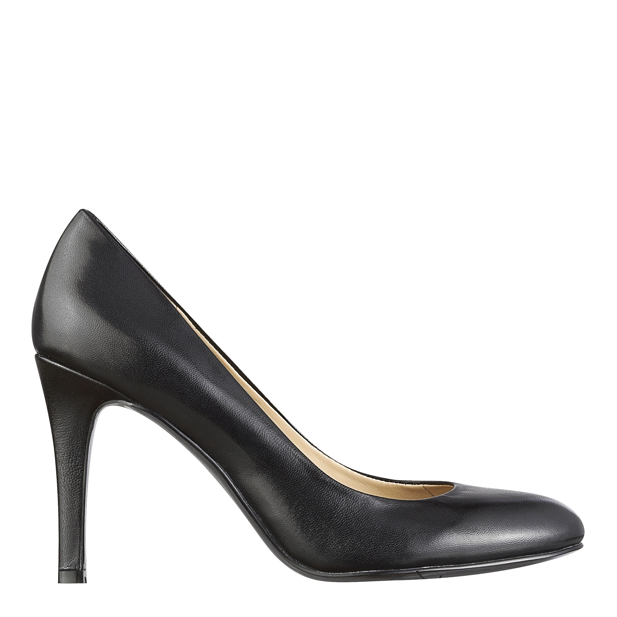 5cc3849d9 Nine West Caress Round Toe High Heels in Black - Lyst