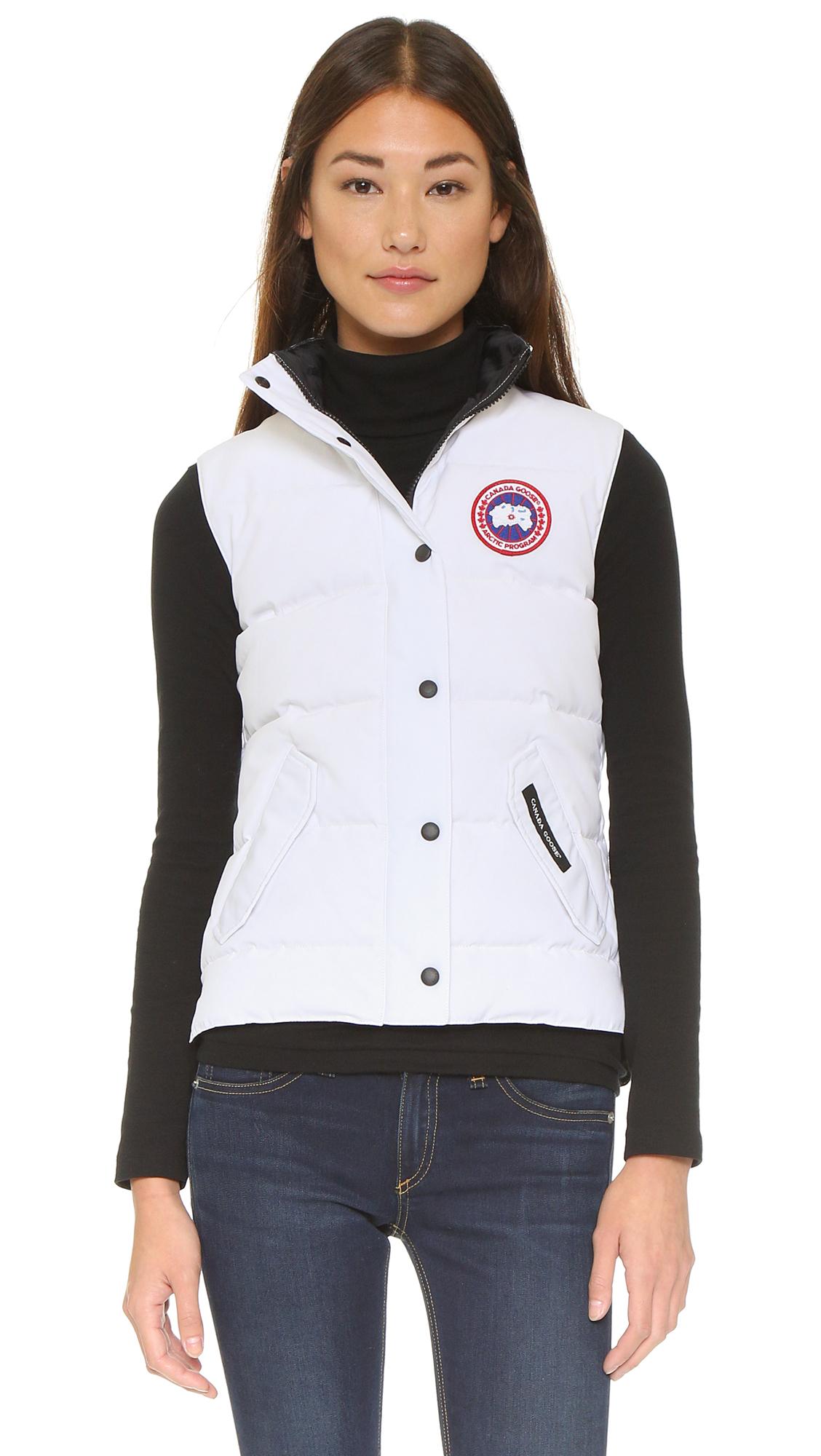 canada goose jacket vest