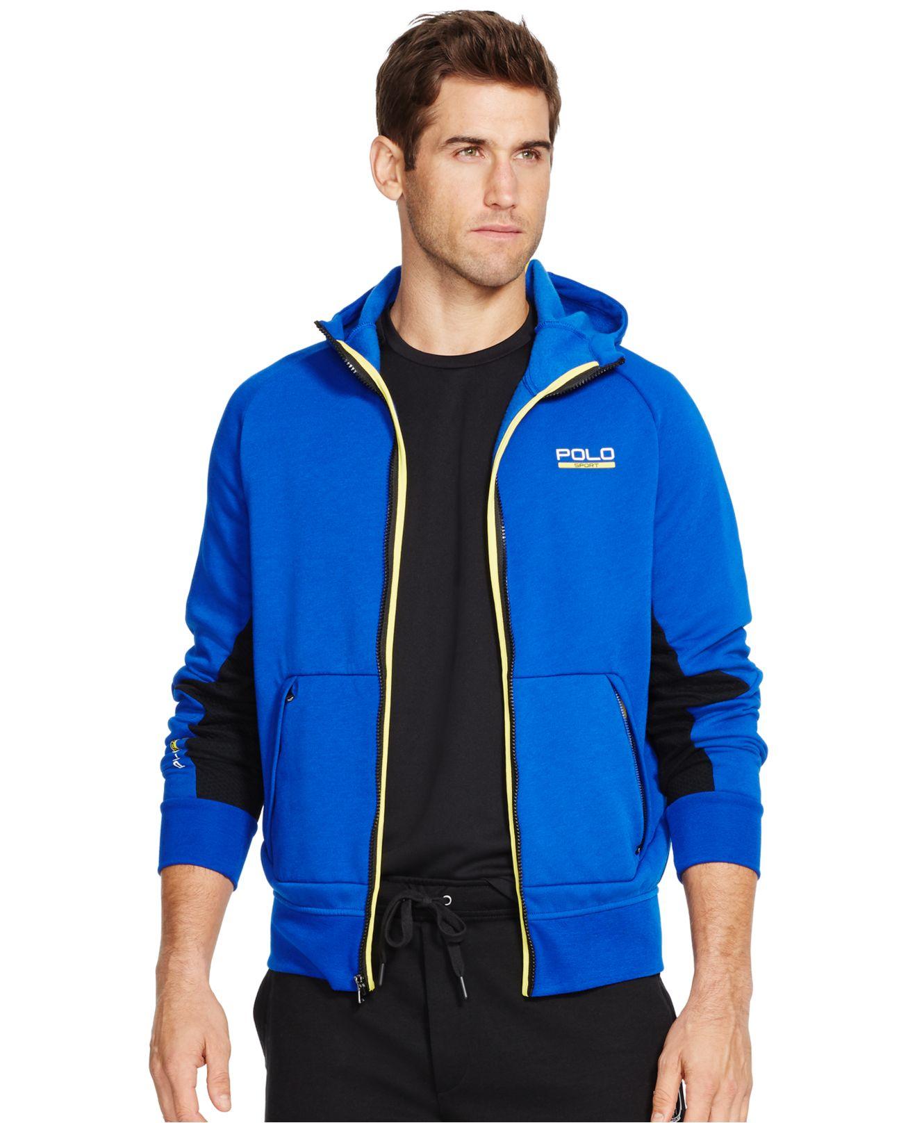 Polo ralph lauren Polo Sport Men's Fleece Zip Up Hoodie in Blue ...