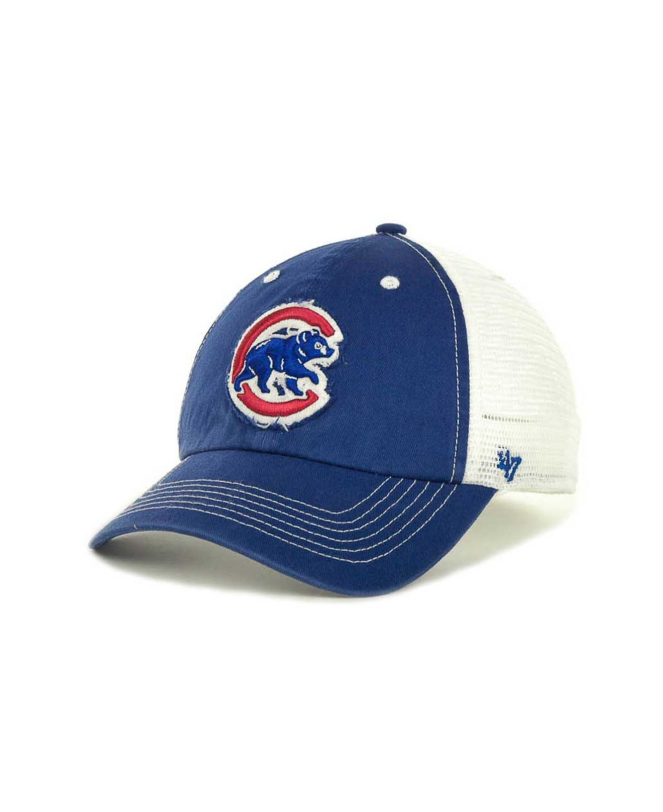 ... ireland lyst 47 brand chicago cubs blue mountain franchise cap in blue  for men 78ede 6811d e3b4b36896f6