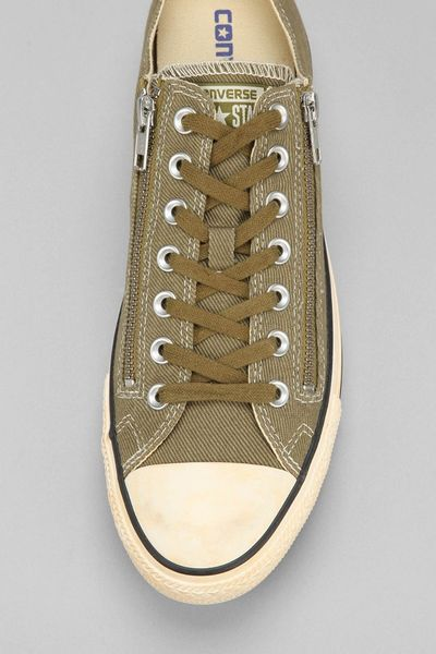 Converse Taylor All Star Old School Washed Sidezip Lowtop