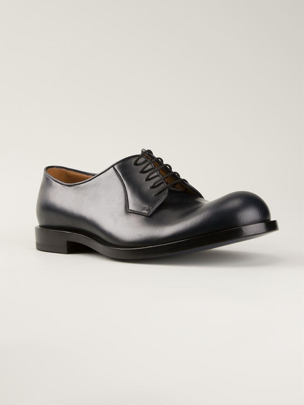 30fc828b8b1 Lyst - Jil Sander Classic Derby Shoes in Blue for Men