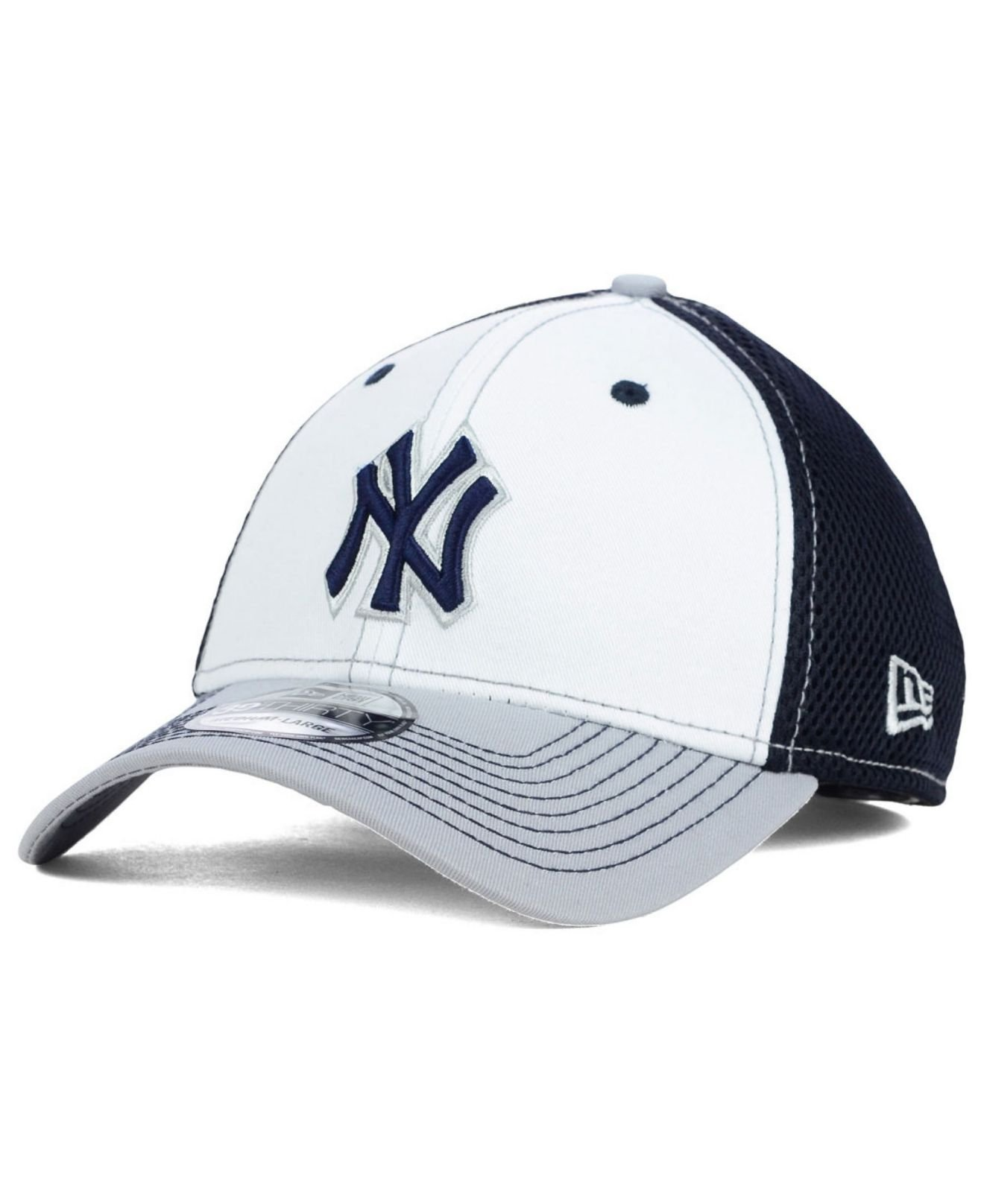 huge discount 7fa0a d8ea6 new style lyst ktz new york yankees neo 39thirty cap in blue for men eddac  b15d3