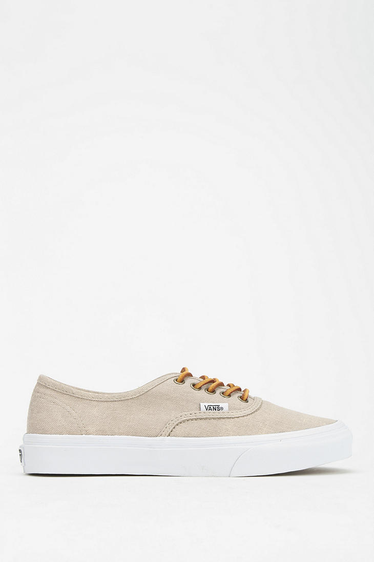 vans sneaker authentic beige