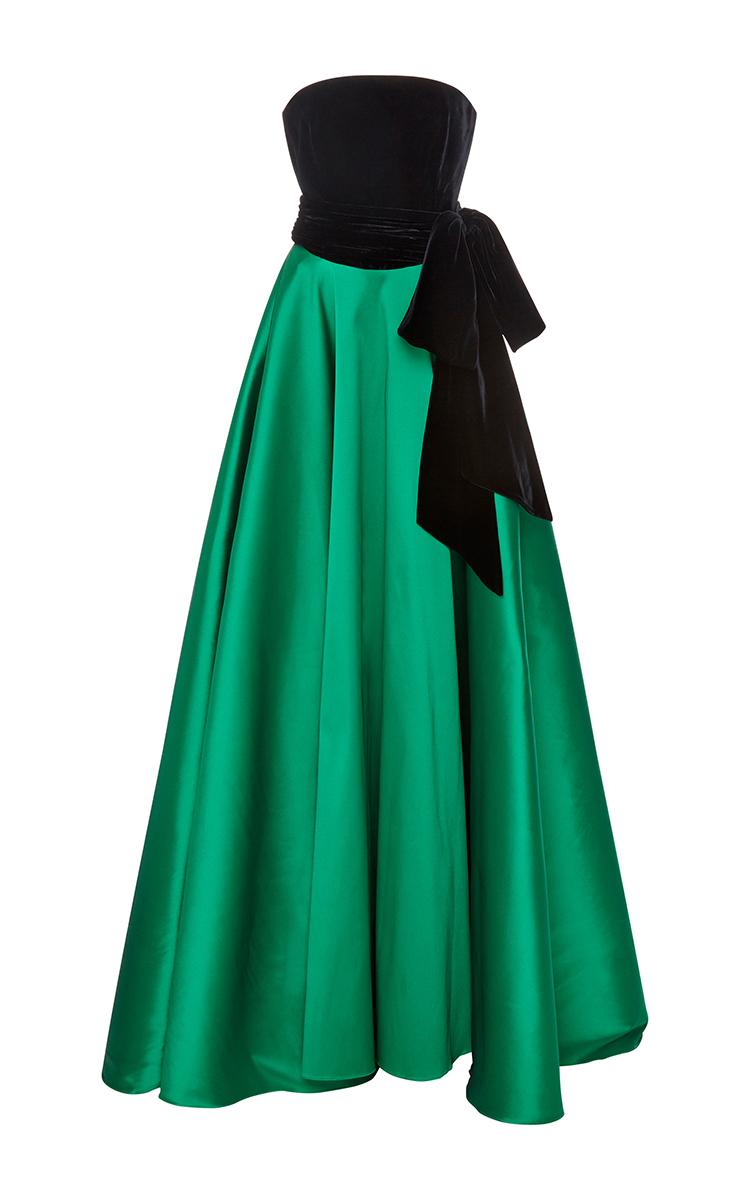 Lyst - Sachin & Babi Denise Velvet Gown in Black