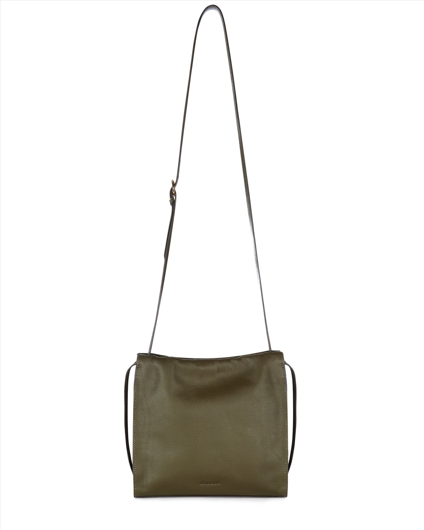 1c13b551bcf Lyst - Jaeger Hart Leather Bag in Green