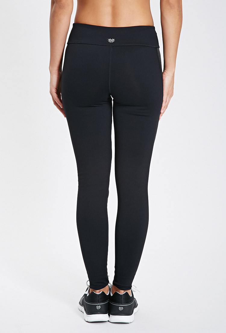 Vinyl Pants Forever 21 Lyst Forever 21 Active Colorblock