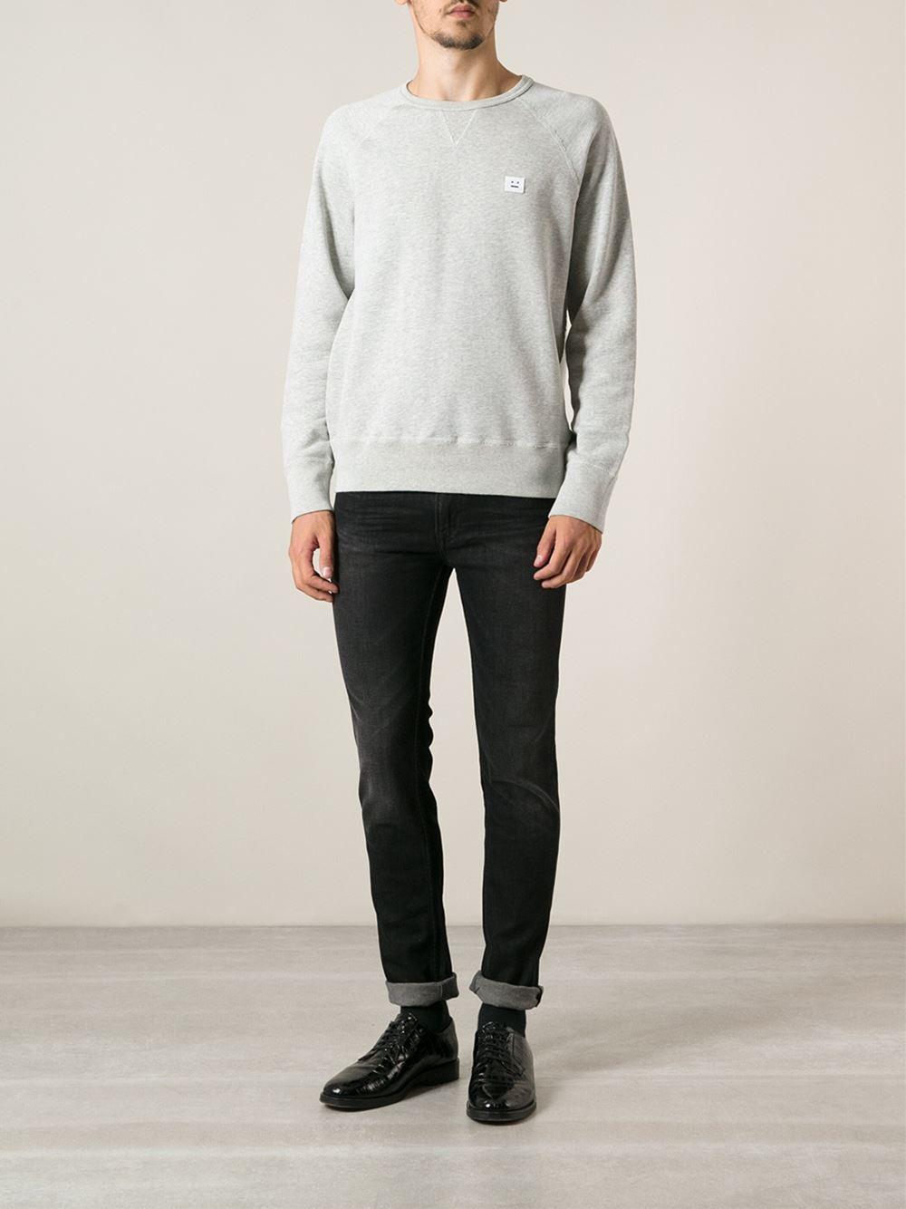 Lyst - Acne Studios Skinny Jeans in Black for Men ba516571ba7