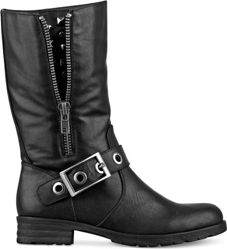 pink and pepper thunder boots in black lyst