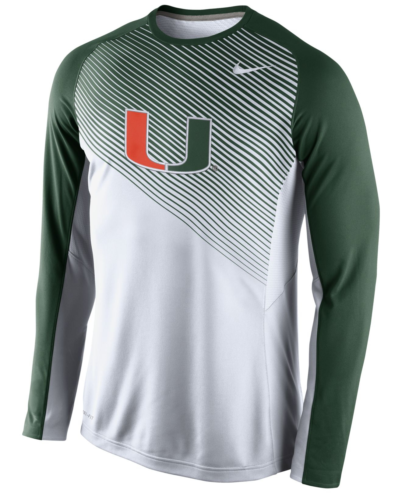 e117647bbbc Nike Mens Shootaround Dri Fit Long Sleeve Shirt ...