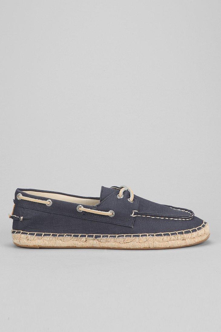 sperry top sider topsider 2eye espadrille canvas boat shoe