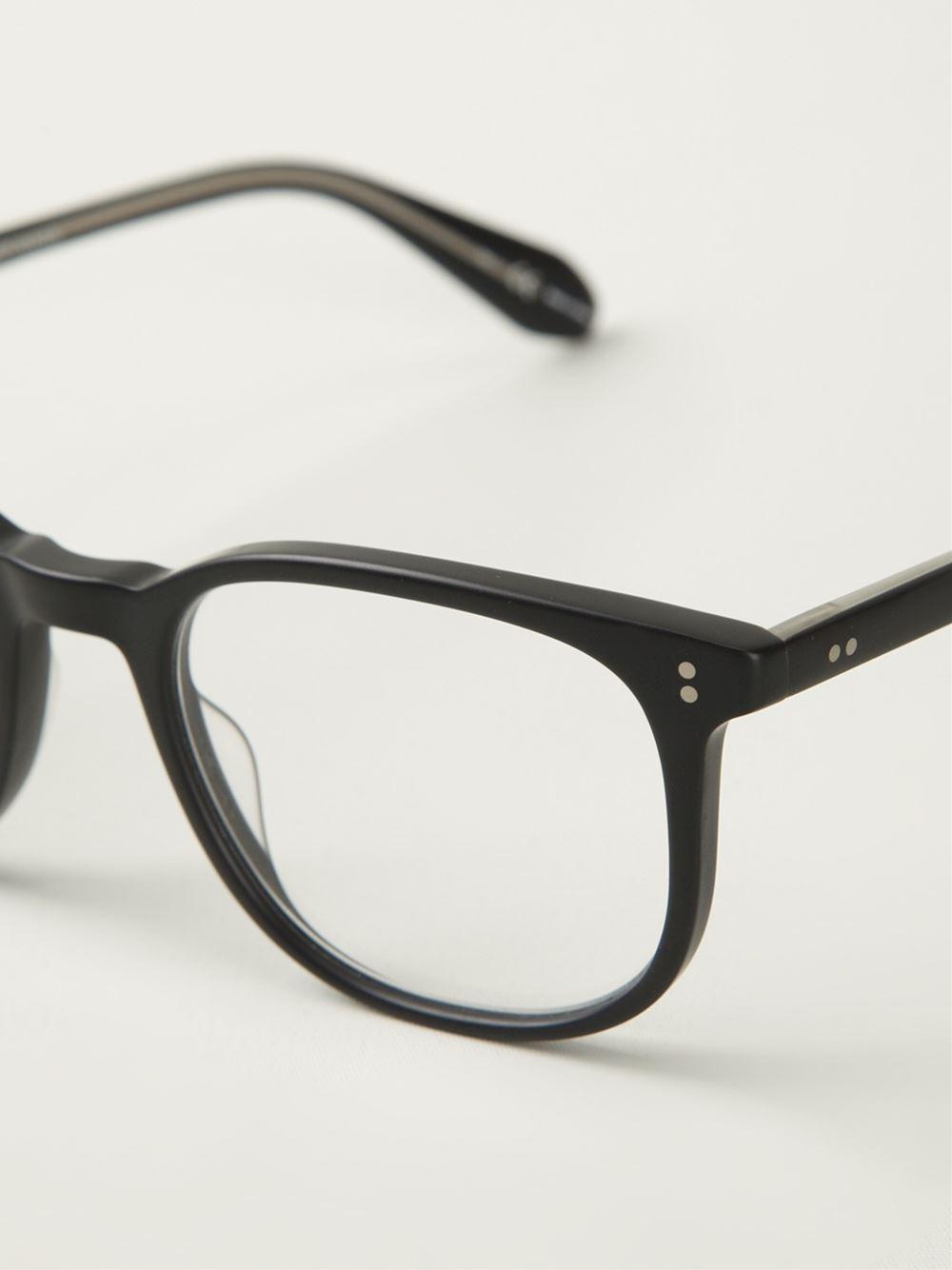 Garrett leight Bentley Optical Glasses in Black Lyst