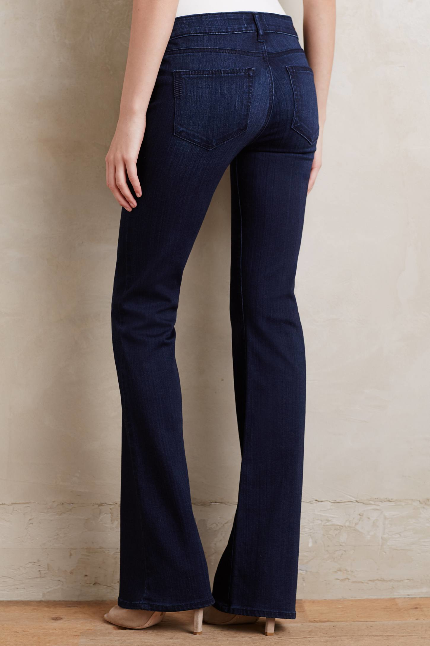 Paige Hoxton Bootcut Petite Jeans in Blue | Lyst