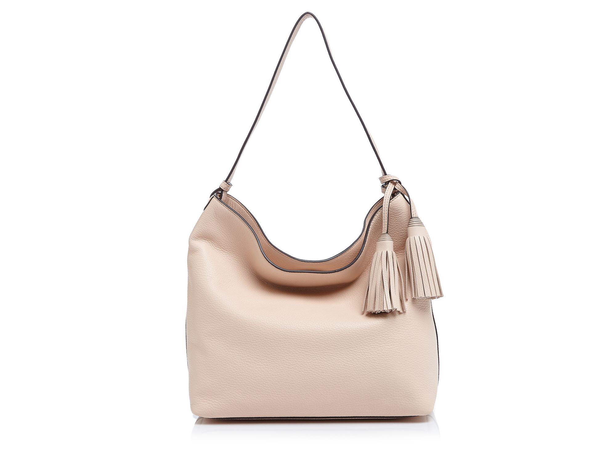 1caf87d0dfd8 Lyst - Tory Burch Thea Hobo in Pink