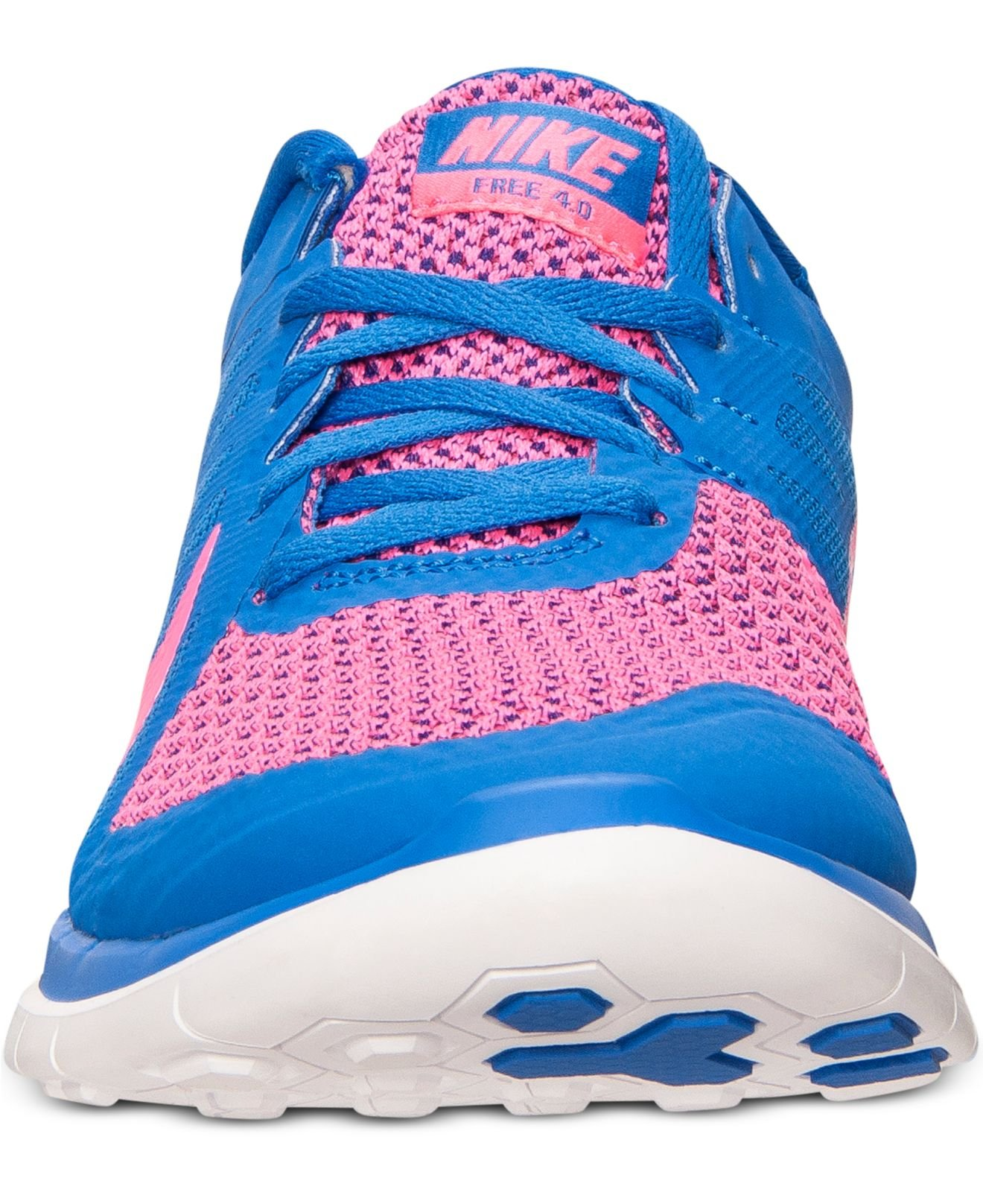 huge selection of 9851b ff8c2 Lyst - Nike Women S Free 4.0 V4 Running Sneakers From Finish Line in ...