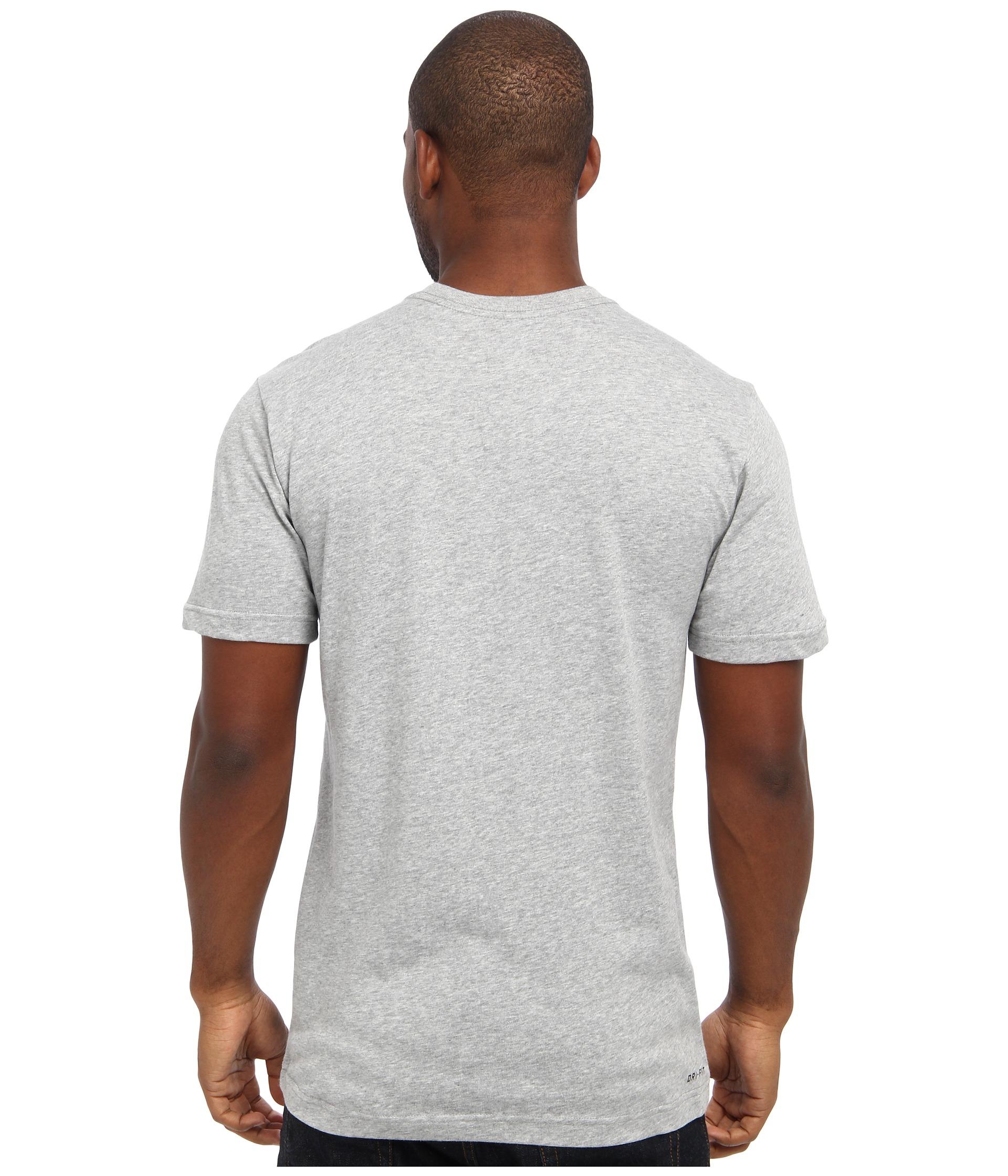 Nike Sb Gray Sb Dri Fit Skate Pocket Tee For Men Lyst