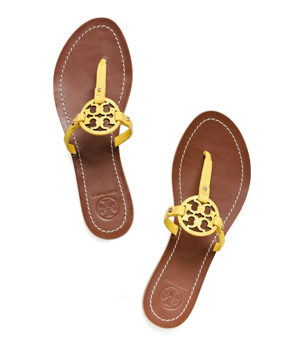 1e4a13c7b461 Lyst - Tory Burch Mini Miller Flat Thong Sandal