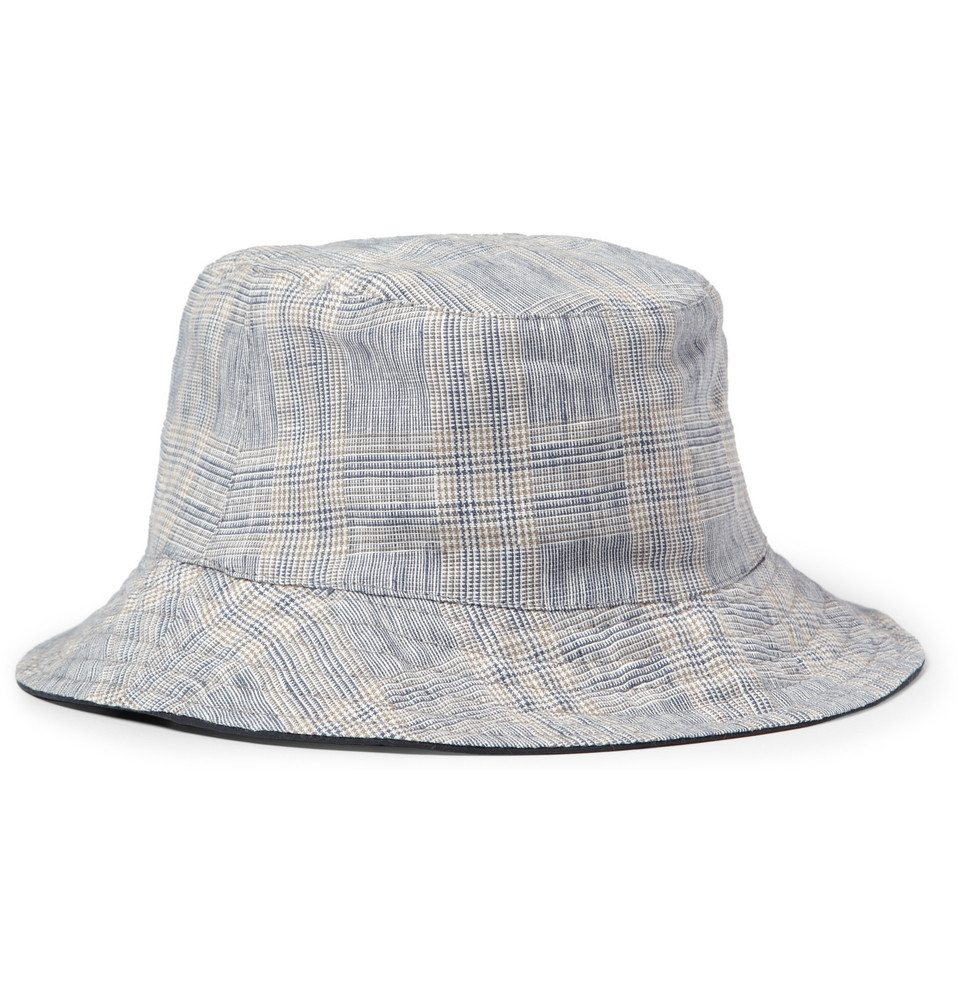 Lyst - Lock   Co. Reversible Waterresistant Bucket Hat in Blue for Men 3f1cfd05b8a8