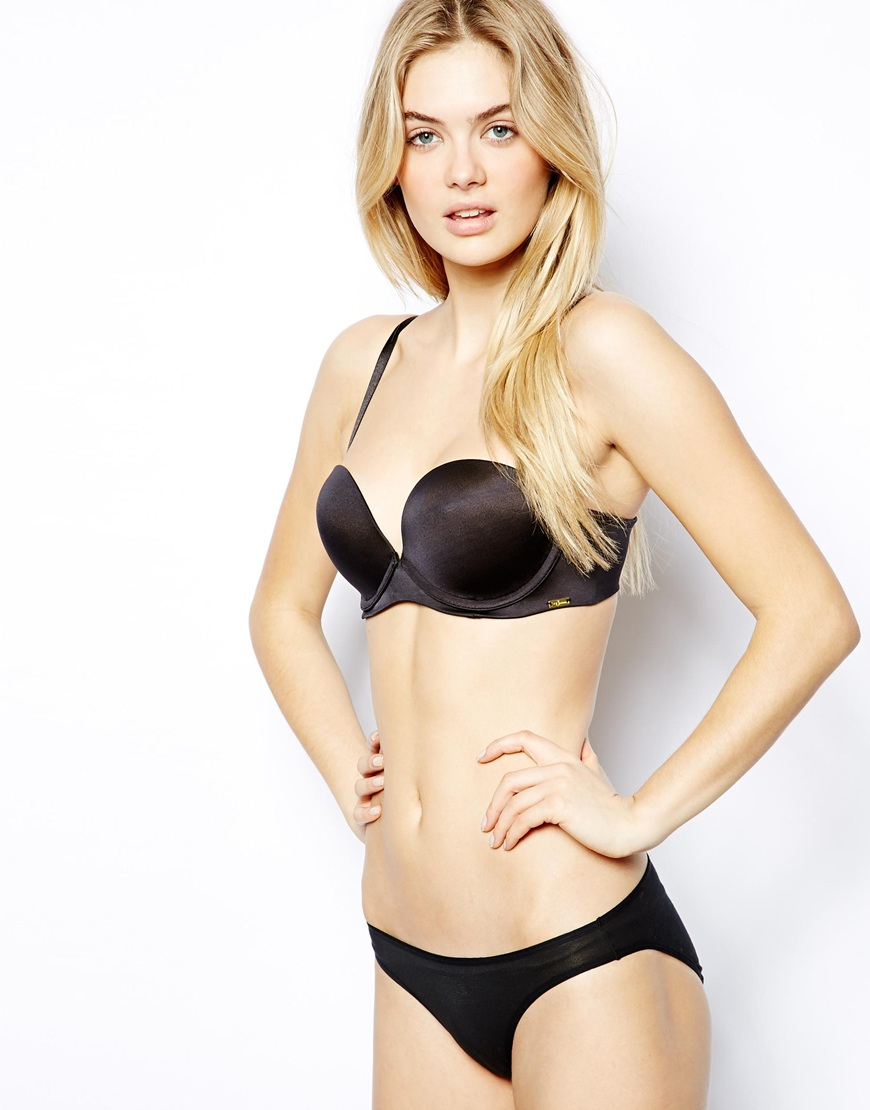 69a836d29bb03 Lyst - Ultimo Miracle Gel Boost Strapless Bra in Black