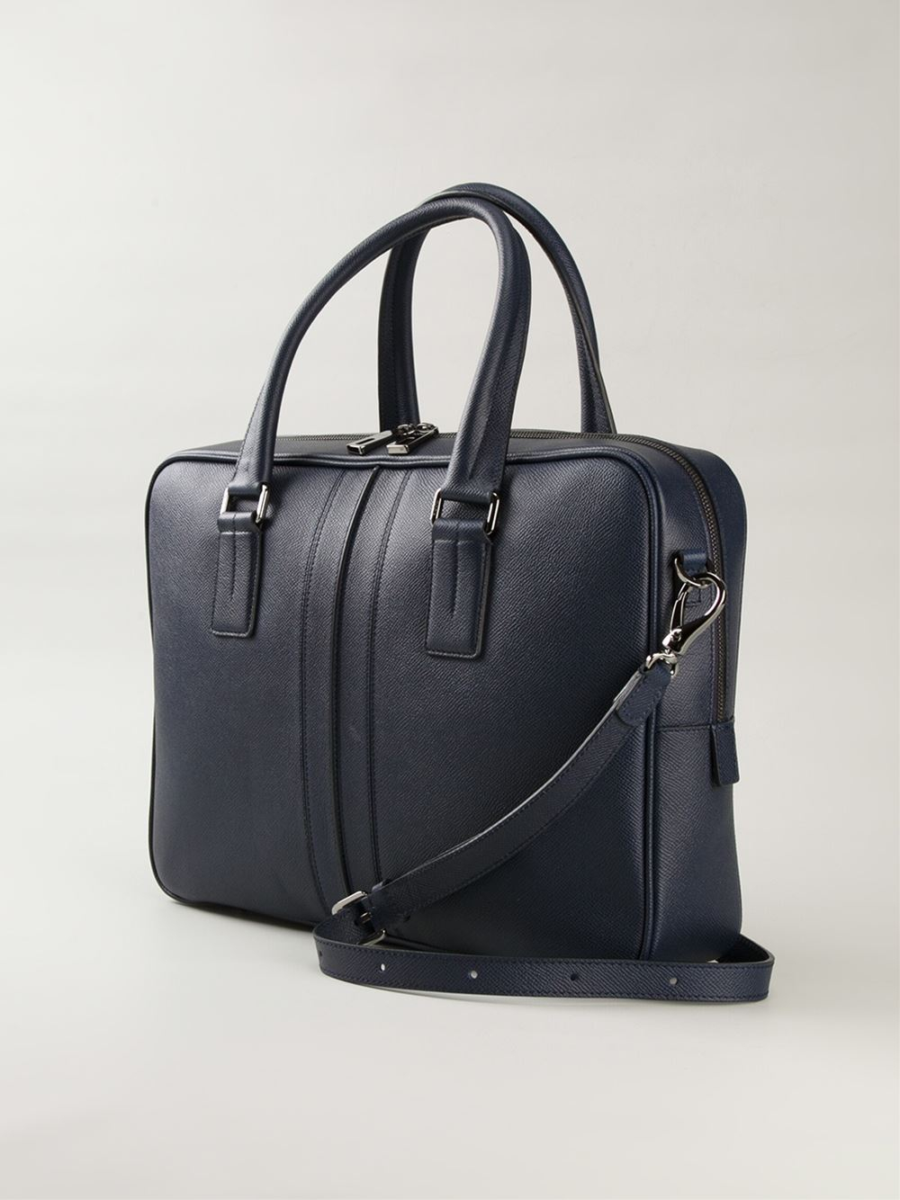 Lyst tod39s medium document holder bag in blue for men for Document holder bag