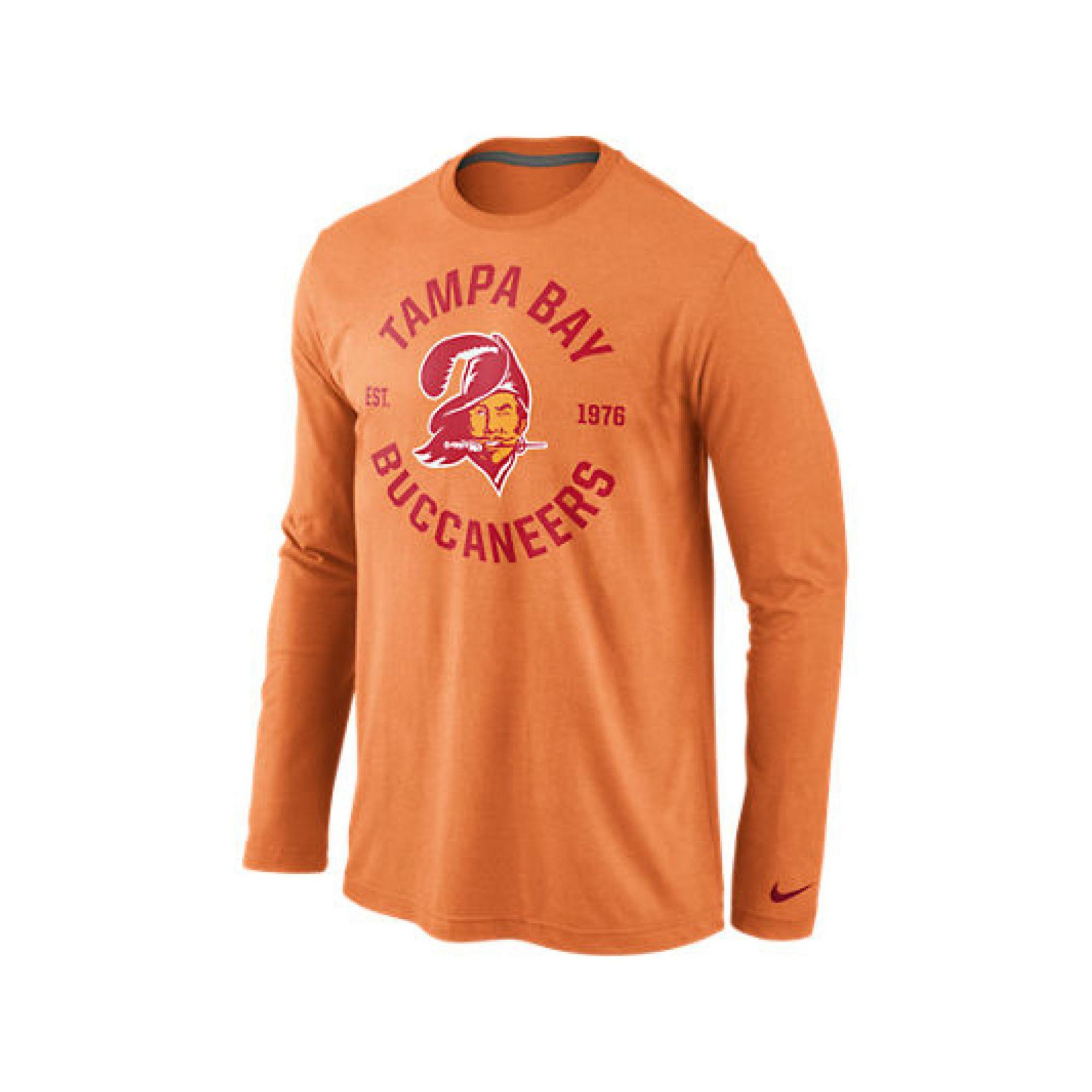 ... Nike Mens Longsleeve Tampa Bay Buccaneers Retro Stamp It Tsh ... c70b47ab9