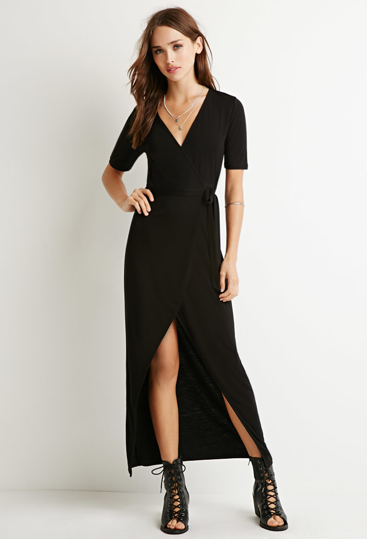 Backless maxi dress forever 21
