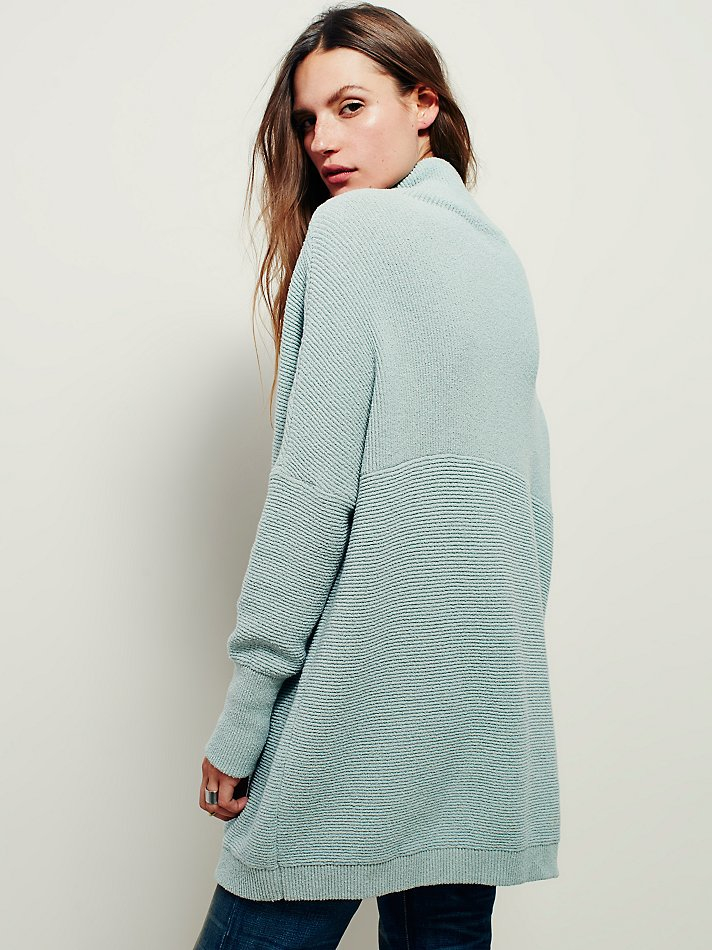 Free people Ottoman Slouchy Tunic in Blue | Lyst