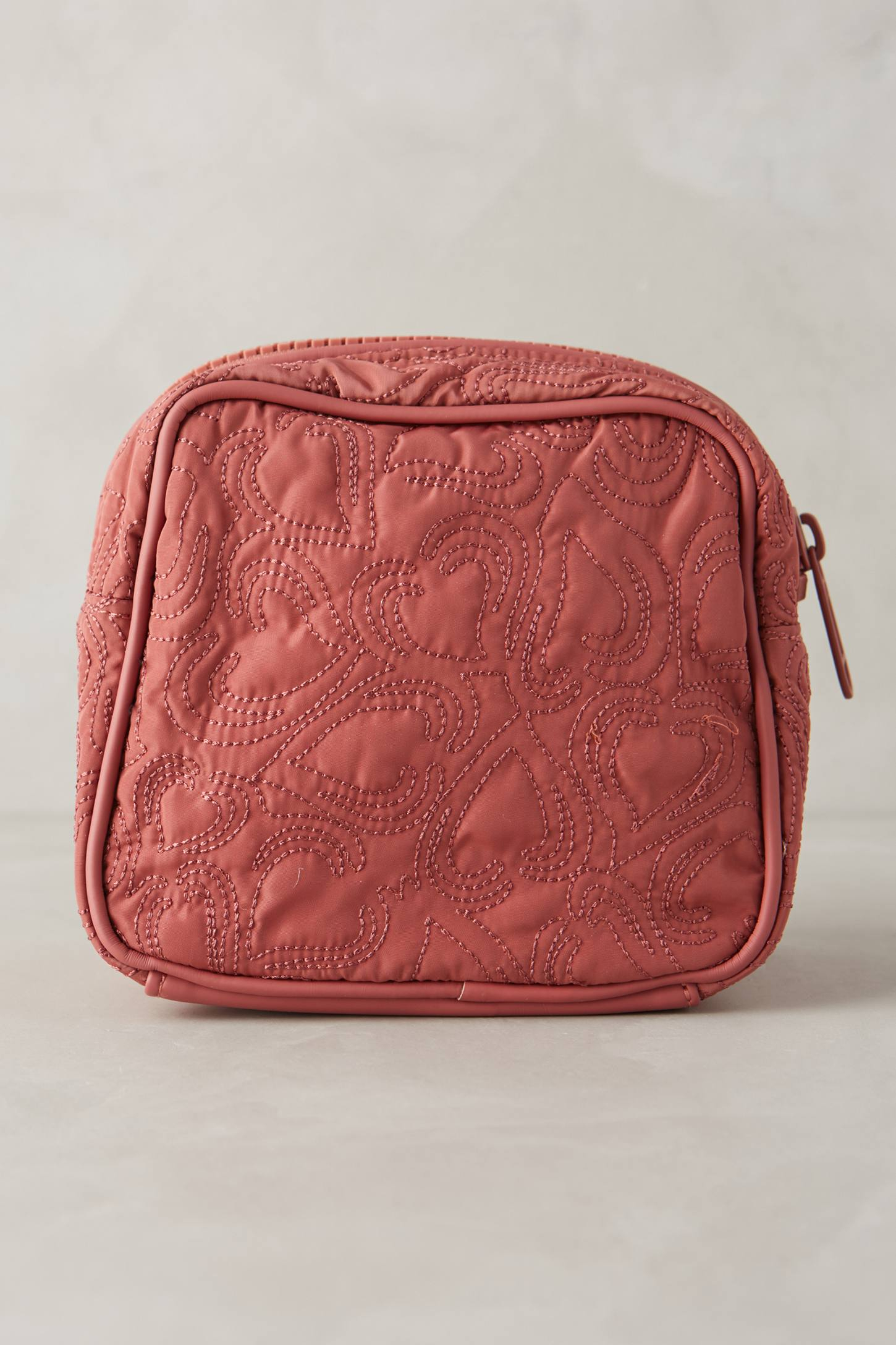 Adidas by stella mccartney Quilted Cosmetic Bag in Pink | Lyst : quilted cosmetic bags - Adamdwight.com