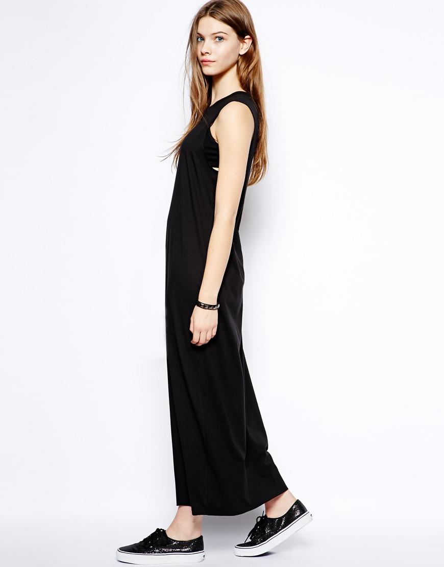 Black black t shirt maxi dress - Black T Shirt Maxi Dress Re Re