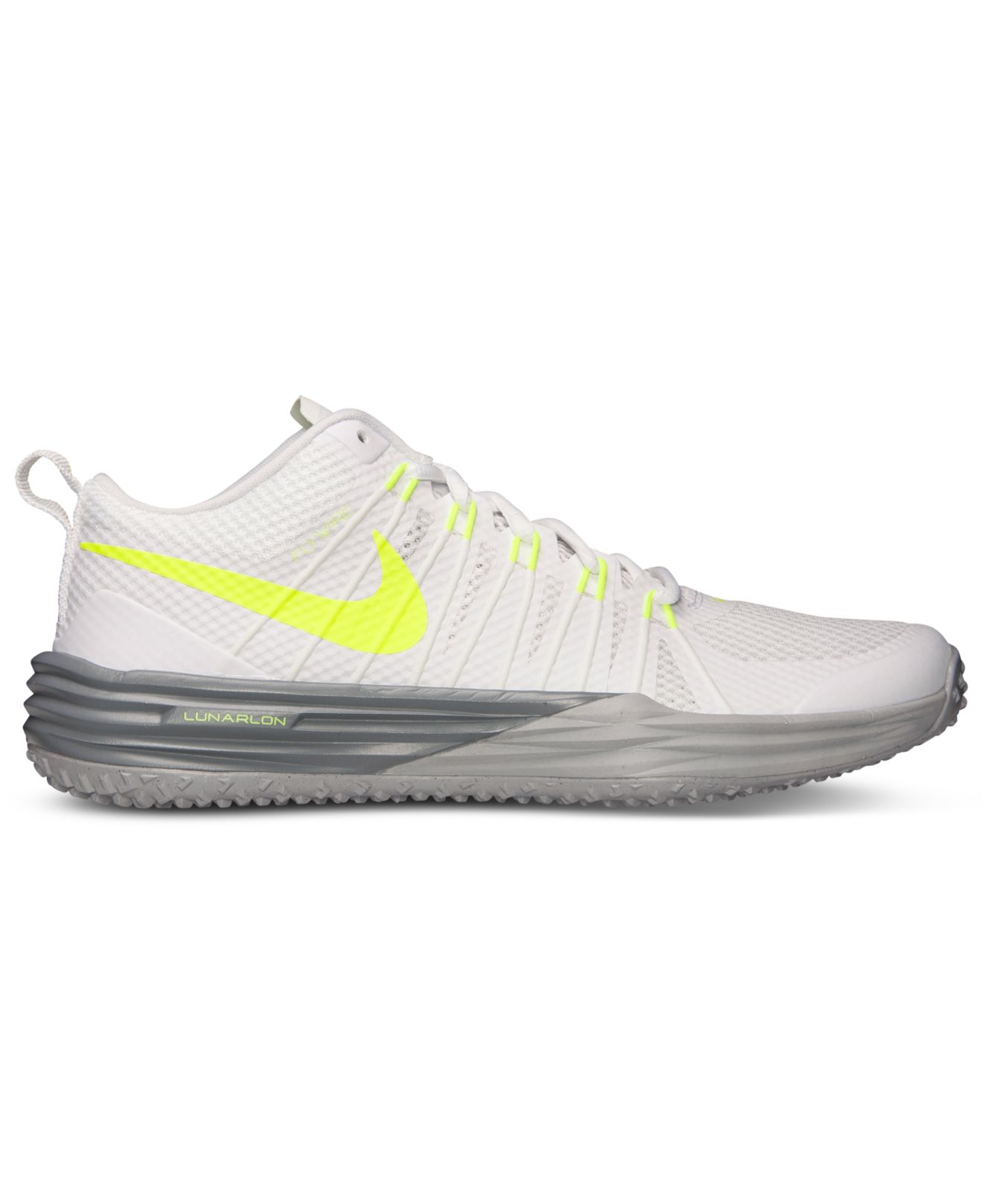 best service 4dfca 2433e Nike Mens Lunar Tr1 Training Sneakers From Finish Line in White for ...
