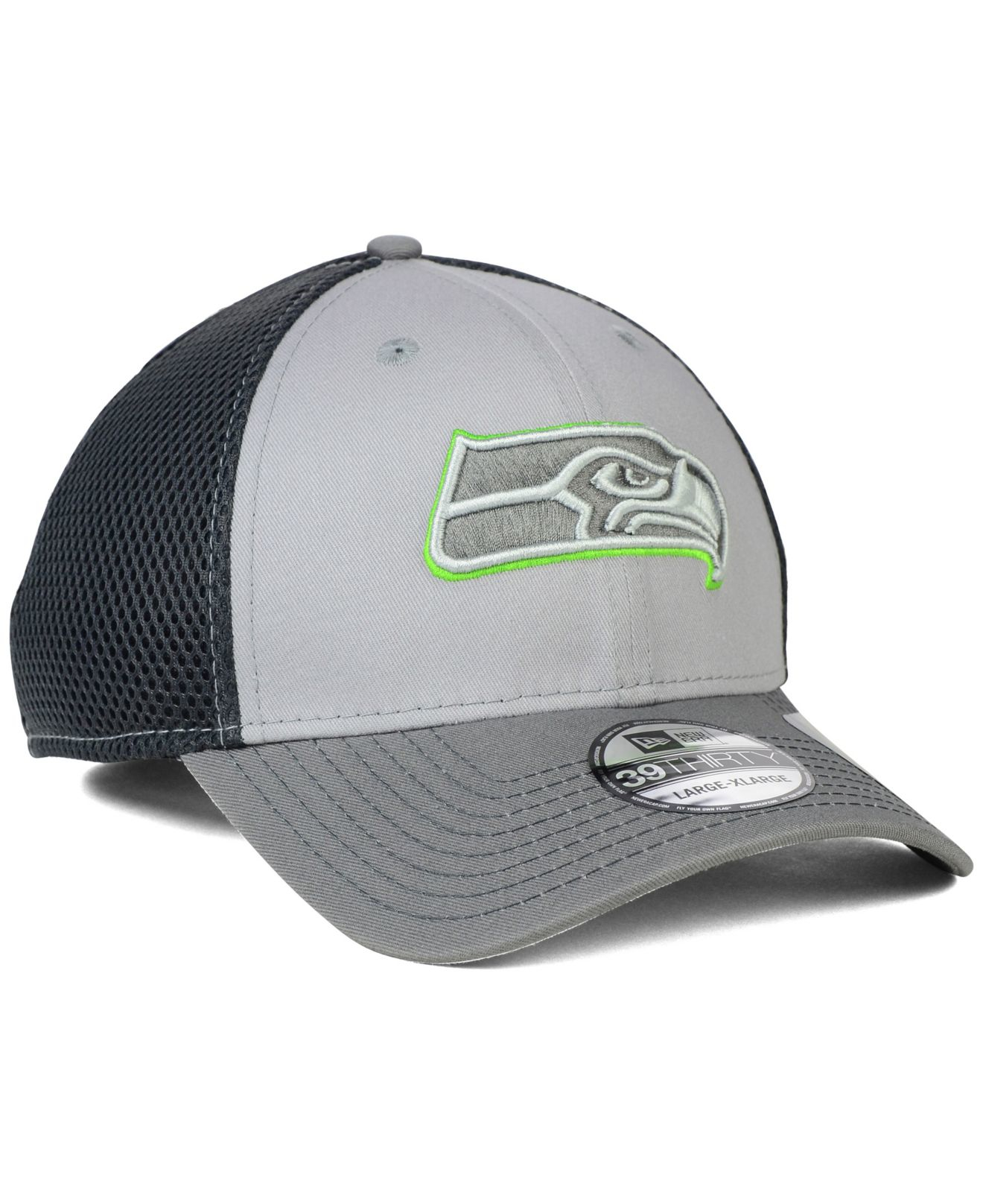 ... low cost lyst ktz seattle seahawks neo flex 39thirty cap in gray for men  e9e39 9f14e 79646780d25c