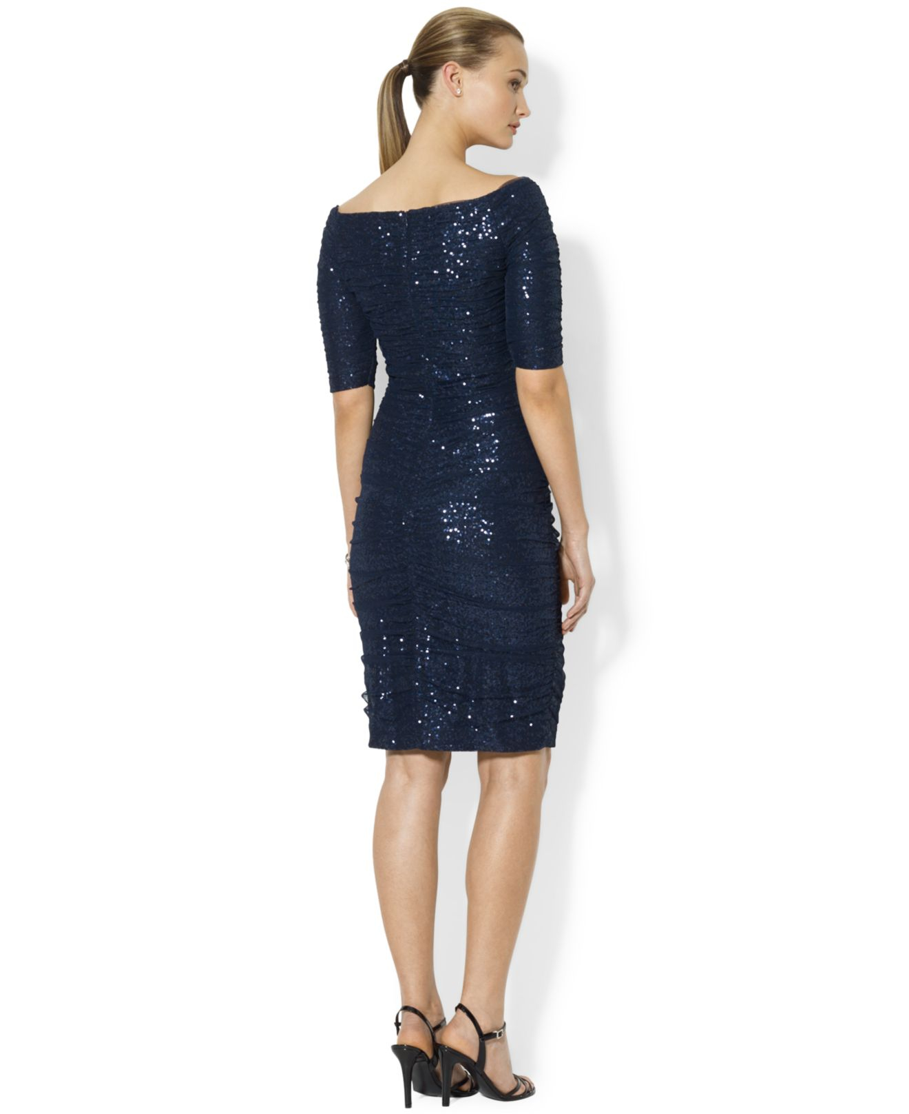 8e9796fa Ralph Lauren Sequin Dress - Dress Foto and Picture