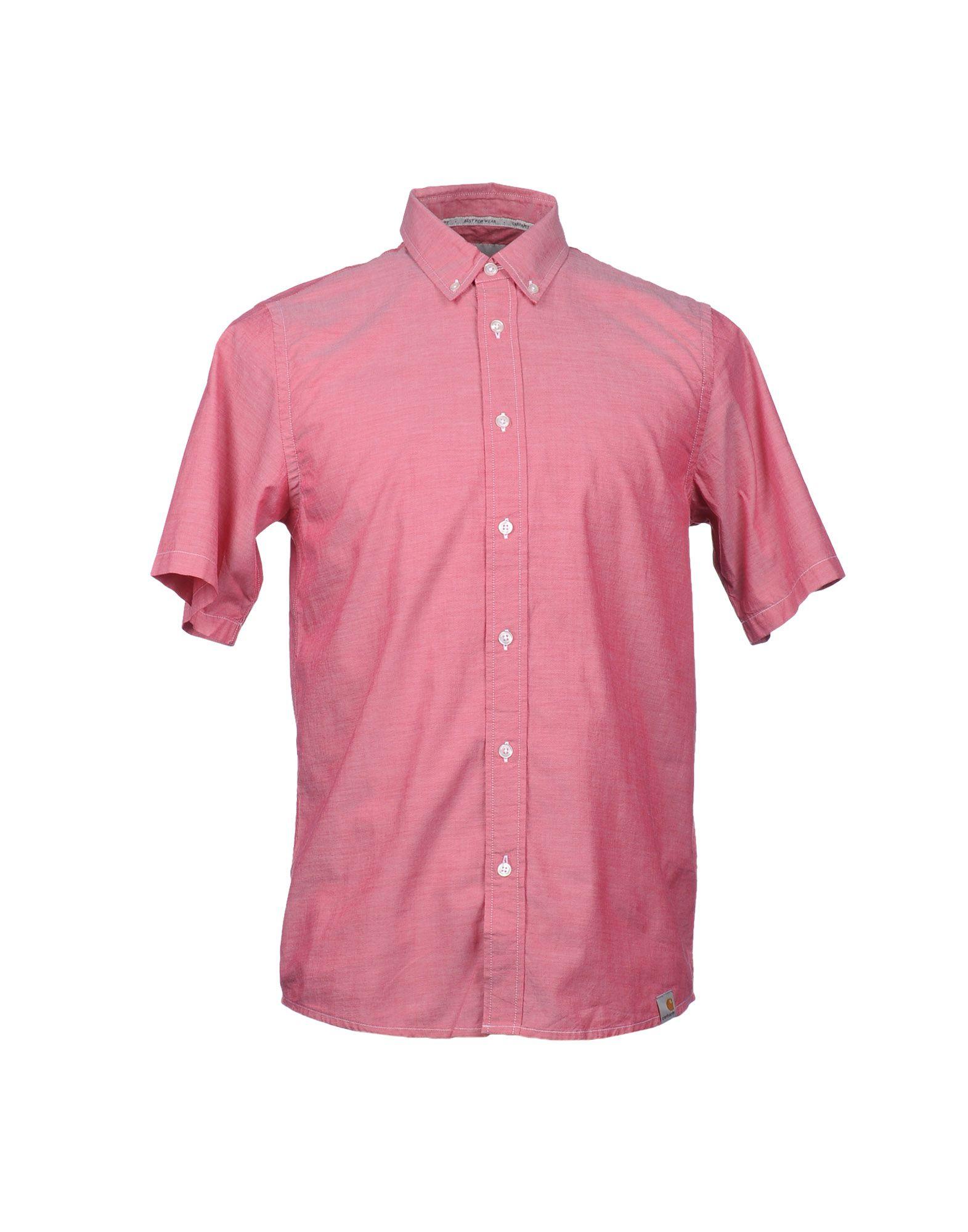 Lyst Carhartt Short Sleeve Shirt In Red For Men