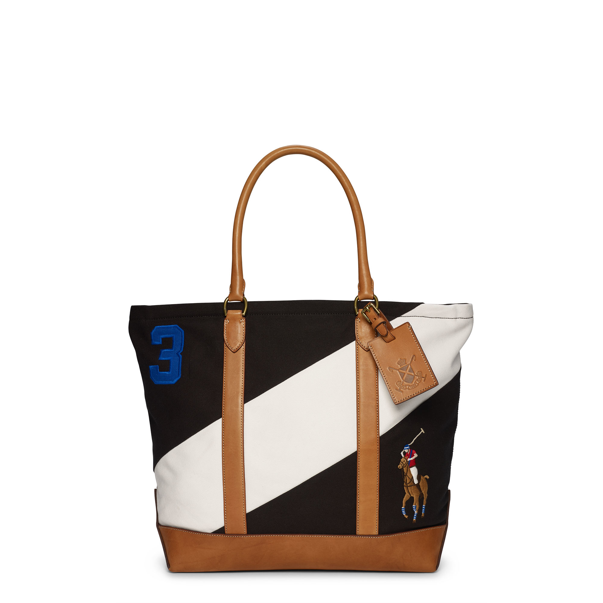 9291f03c12 Polo ralph lauren regatta stripe big pony tote in black for men lyst jpg  2000x2000 Polo
