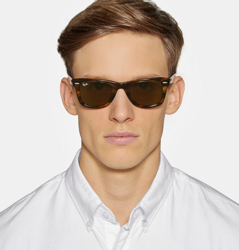 Ray Ban Wayfarer Men Brown