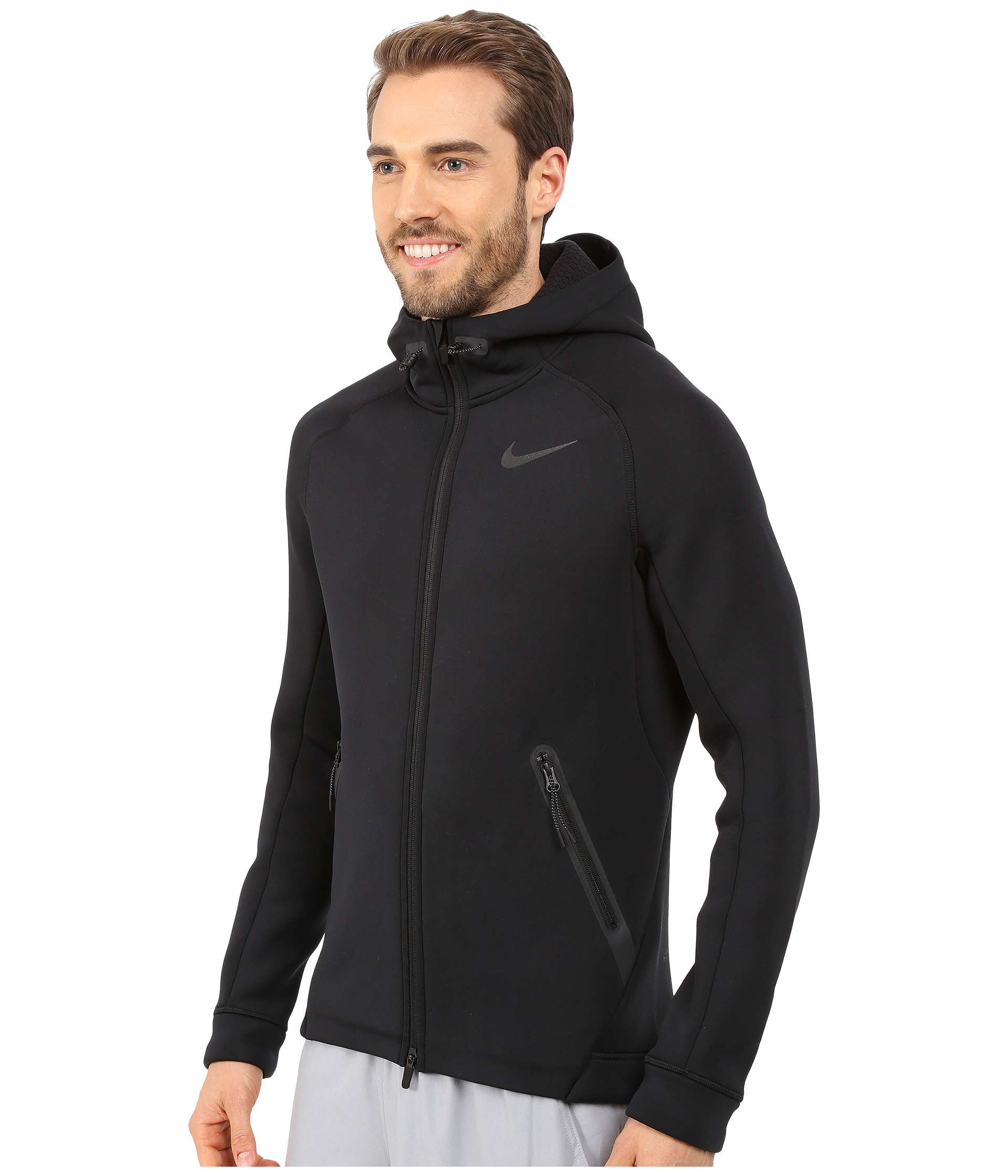 725c245fa798 Lyst - Nike Therma-sphere Max Training Jacket in Black for Men