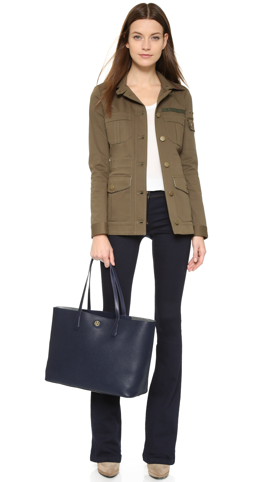 Lyst - Tory burch Perry Tote