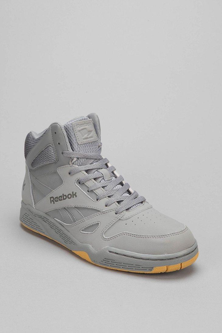 Lyst Reebok Royal Hightop Sneaker In Gray For Men