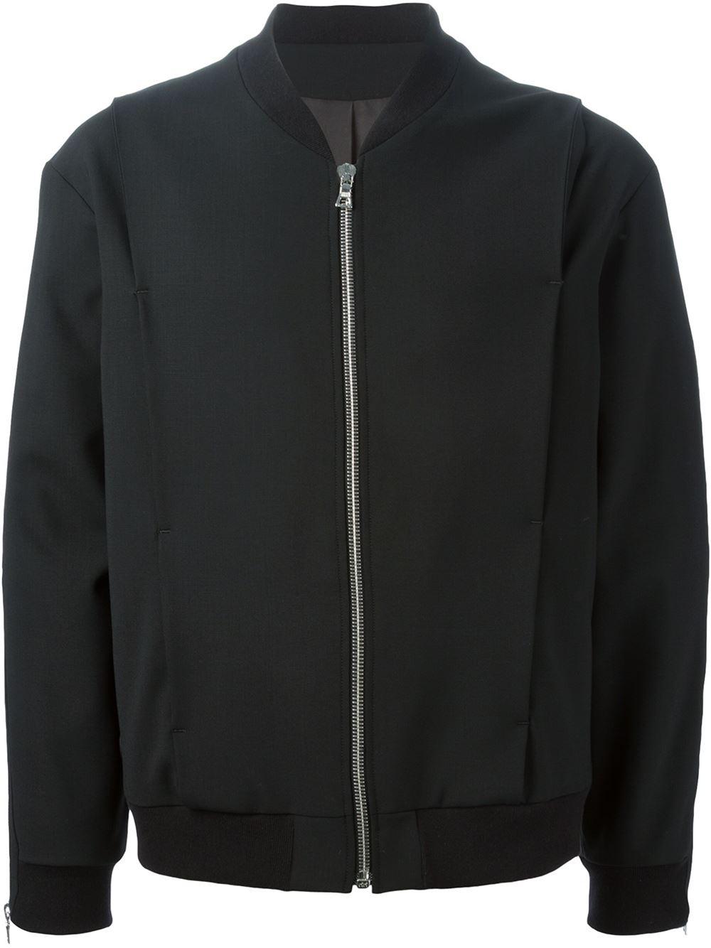 Public School Bomber Jacket In Black For Men Lyst
