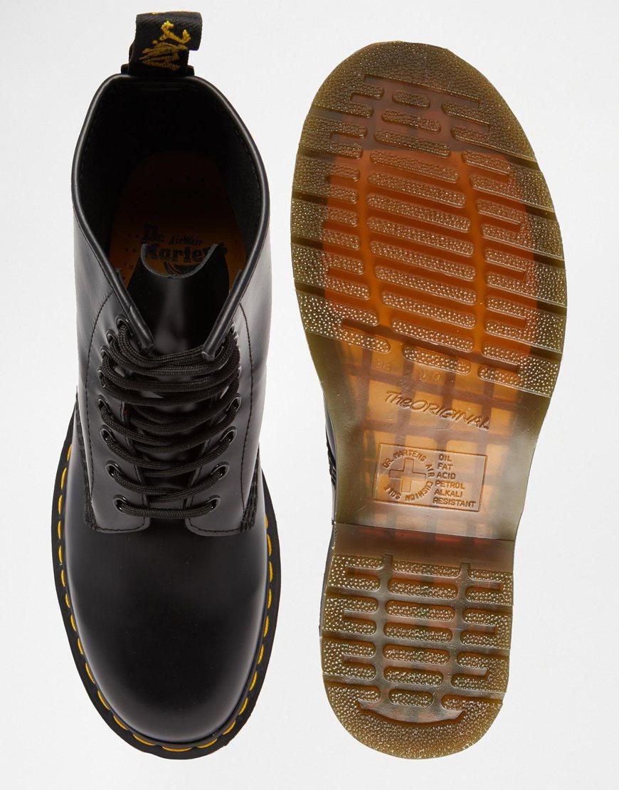 Lyst Dr Martens Original 8 Eye Boots In Black For Men
