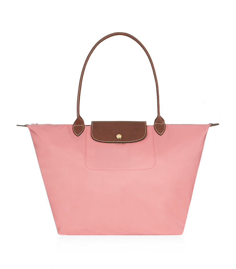longch le pliage large shoulder bag in pink lyst