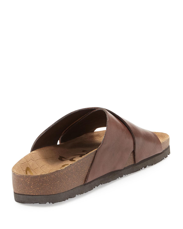 82ea923bc345 Lyst - Sam Edelman Adora Crisscross Sport Sandal in Brown