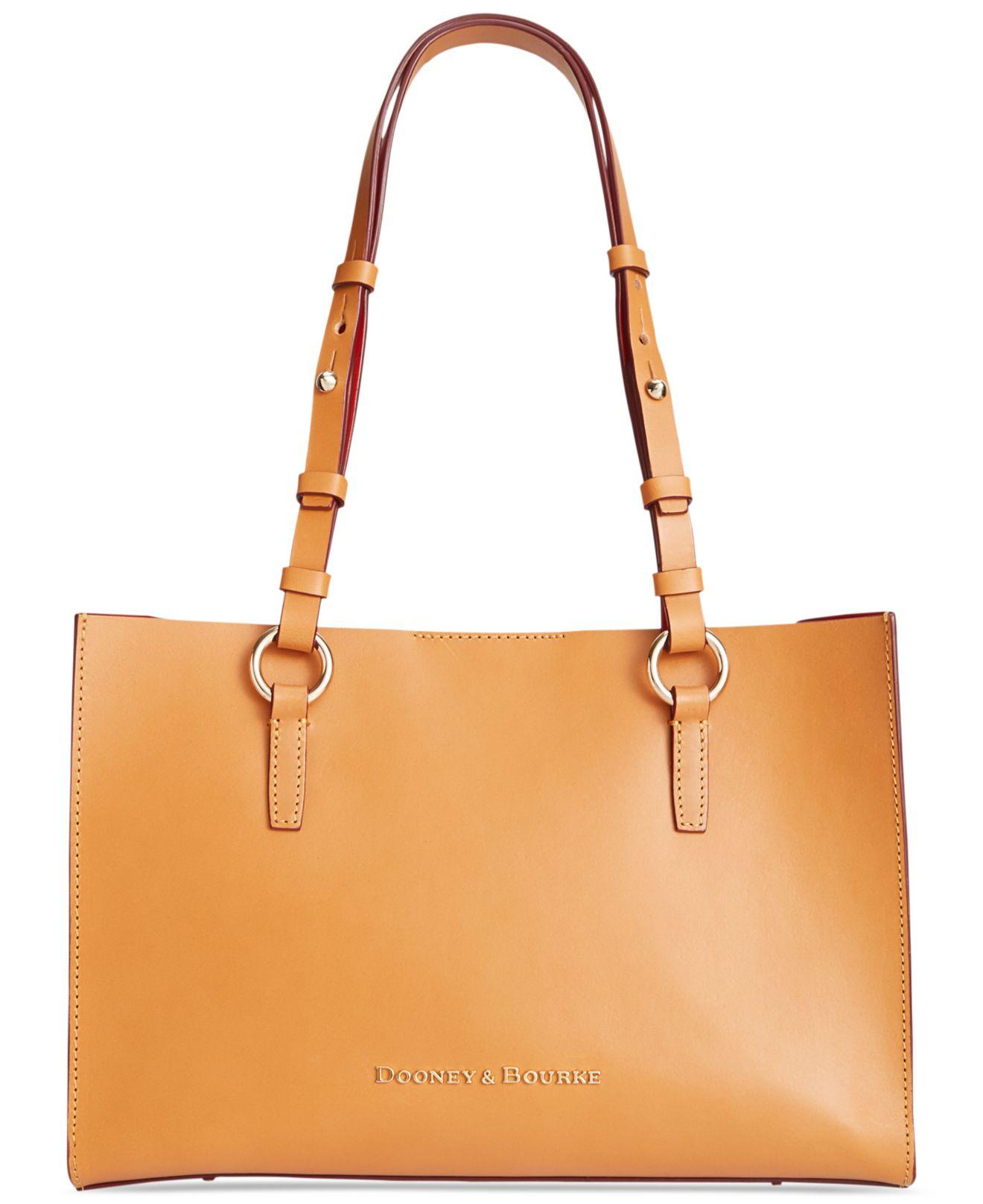 Dooney Amp Bourke Montecito Janette Shopper In Orange Lyst