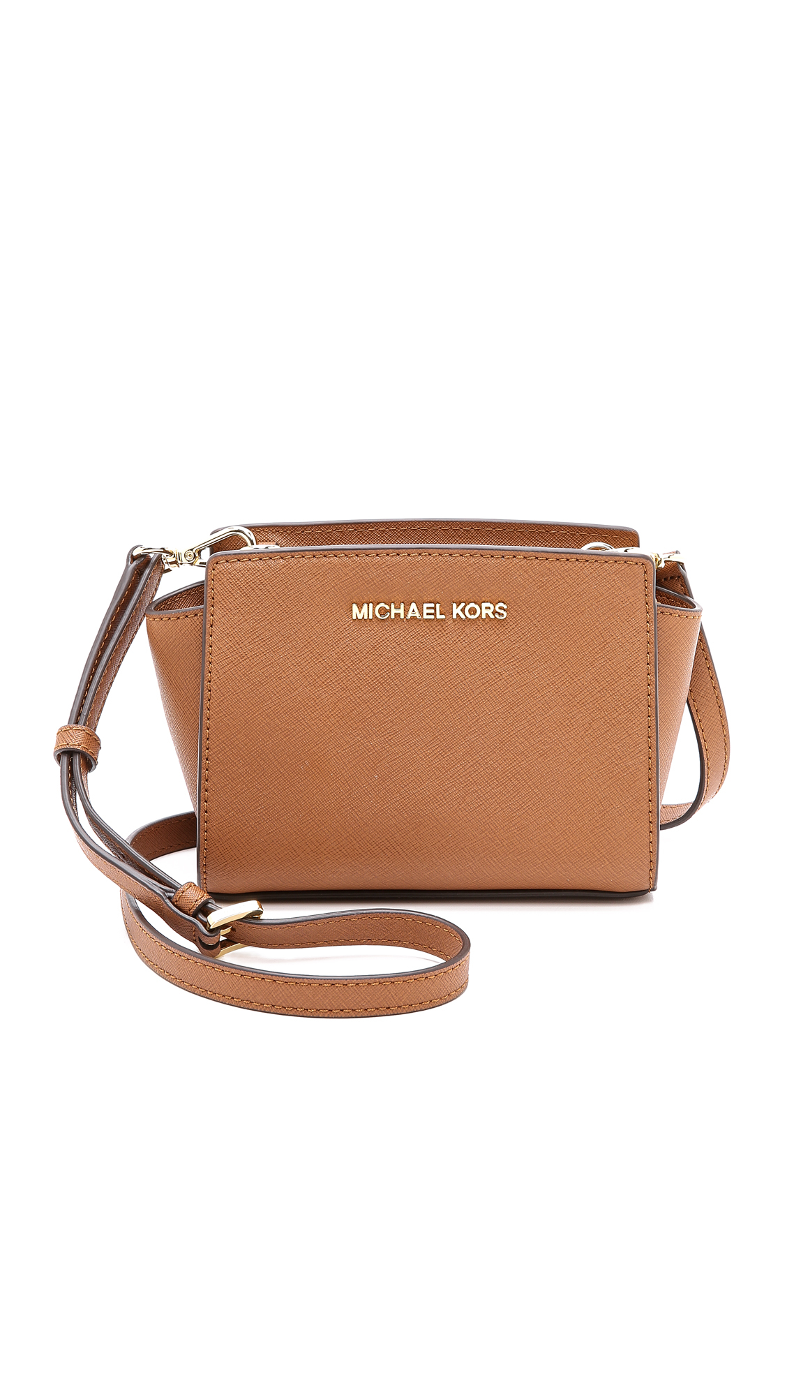 6a39441708ac Gallery. Previously sold at  Shopbop · Women s Leather Messenger Bags  Women s Michael By Michael Kors Selma ...