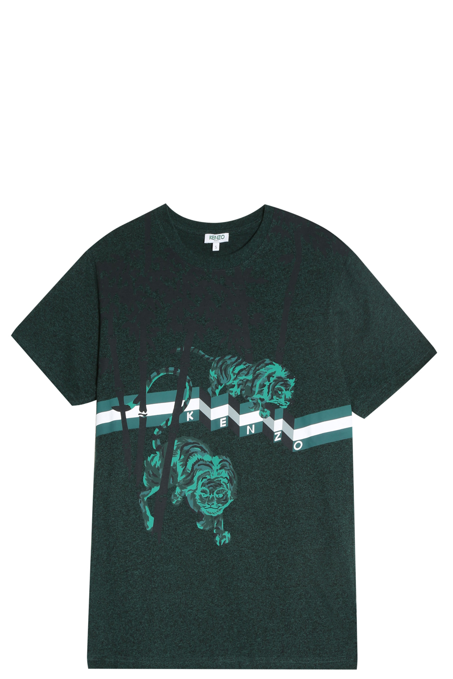 aba39f3e Lyst - KENZO Bamboo Tiger T-shirt in Green for Men