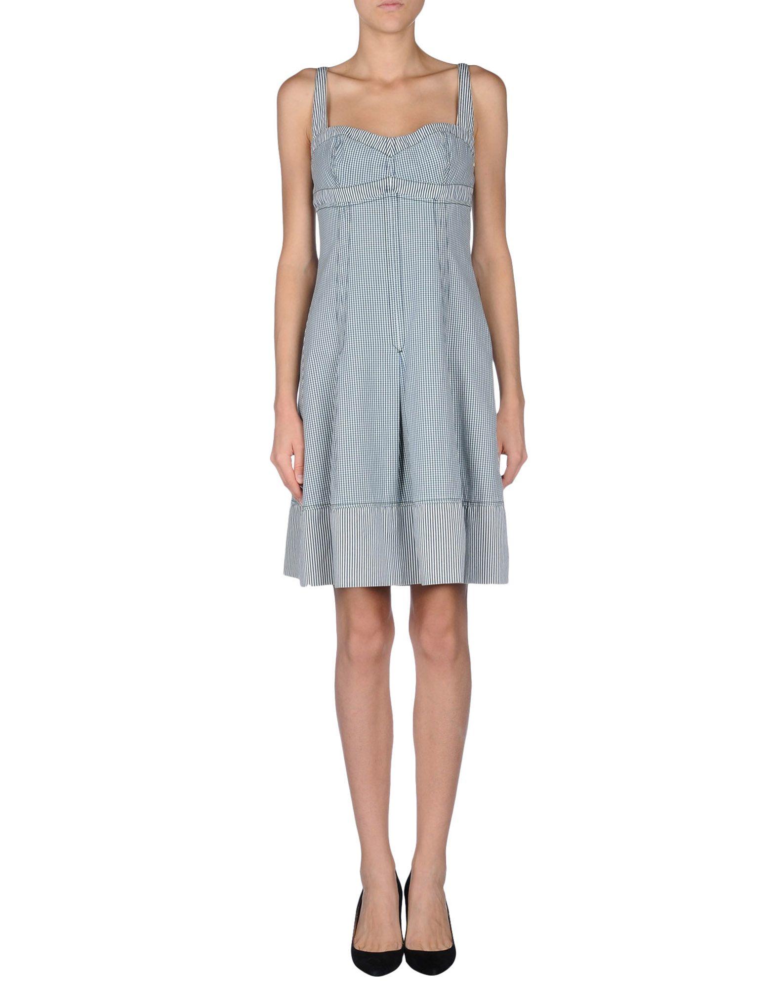 Lyst - Sportmax Code Short Dress in Blue